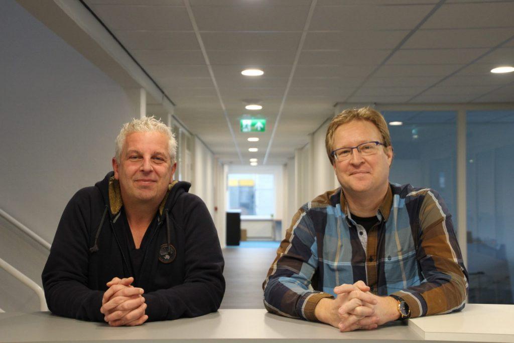 Directeuren Edwin Roelse (l) en Pieter Joziasse